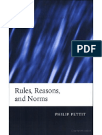 Rules Reasons and Norms Selected Essays