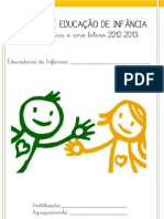 Registos de Educação de Infância 12-13