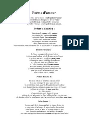 Poèmes Damour Amour Fiction Et Littérature