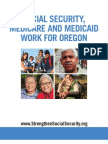 Social Security, Medicare and Medicaid Work for Oregon 2012