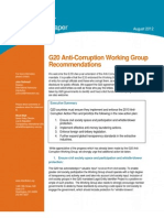 G20 Anti-Corruption WG Recommendations 8-12