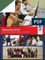 Memorias 2010
