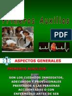 7.- PRIMEROS AUXILIOS