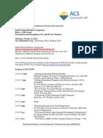 NESACS October Meeting Program Final-1 082112
