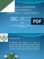 Servicios Interfaces Protocolos Del Modelo OSI