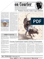 Bison Courier, Thursday, August 23, 2012