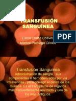 Transfusion Sanguinea 11-07-10