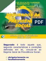 3º SLIDE - SEGURADOS DA PREVIDÊNCIA SOCIAL
