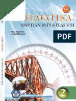 Buku Sekolah Elektronik Matematika Untuk Kelas VIII SMP