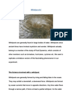 Whirlpools for Science Day