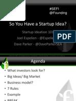 Ideation Bootcamp Slides 08-15-12