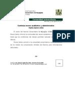 Comunicado de Prensa-Receso Isaac Hasta Nuevo Aviso