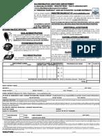 Arpd Registration Form