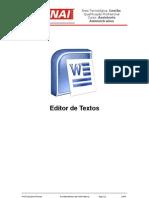 SENAI - Editor de Textos