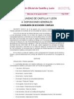 BOCYL Calendario de Fiestas laborales 2013 en Castilla y León