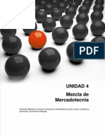 Mercadotecnia - Unidad 4 - Mezcla de Mercadotenia