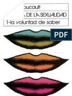 Foucault, M. Historia de La Sexualidad 1 La Voluntad de Saber