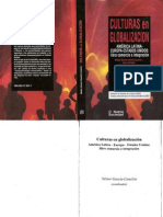 Garcia Canclini. Culturas en Globalizacion