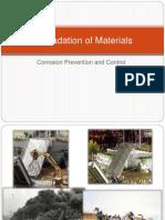 Lecture8 - Corrosion Prevention and Control