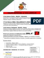 Viatge Valladolid 16-17 de Febrer 2008
