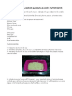 Apuntes sobre la elaboración de jabones transparentes