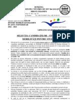 2012 Selectia Candidatilor Studenti-studiu
