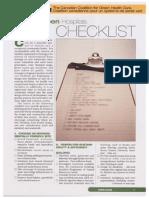 Building Green Hospitals Checklist