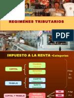 REGIMENES TRIBUTARIOS