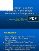 Transportation Fuels From Biomass
