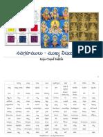 27037050 Nava Grahamulu Mukhya ViShayamulu