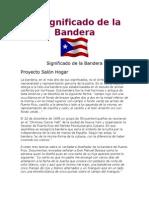El Significado de La Bandera Puerto Rico