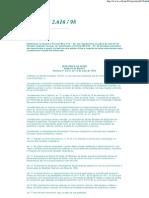 Infecção Hospitalar - Portaria MS 2.616 _ 98