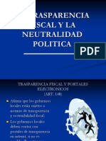 Ley General de Municipalidades