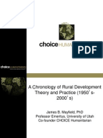 History of Development With CHOICE