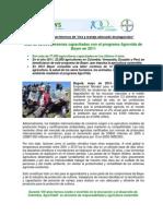 2012.05.01 - MÁS DE 22.000 PERSONAS CAPACITADAS CON EL PROGRAMA AGROVIDA DE BAYER EN 2011