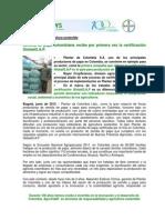 2012.06.01 - Bayer Impulsala Agricultura Sostenible