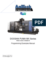 Doosan Puma Mx Series