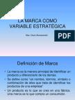 La Marca como variable estratégica lima 2007 2
