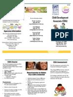 Scholarship Opportunity for CDA Assessment