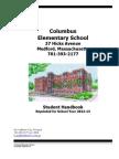Columbus Student Handbook 2012-2013