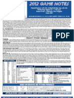 Bluefield Blue Jays Game Notes 8-22