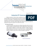 TechCorner 26 - Industrial IP Cameras