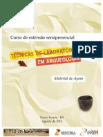 Apostila do Curso de Extensão - Técnicas de Laboratório em Arqueologia