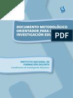 Metodologia Para La Investigacion Educativa