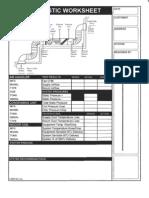Air Diagnostic Worksheet