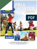 Lakes Area Recreation Brochure/Catalog