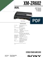 Sony Xm Zr602