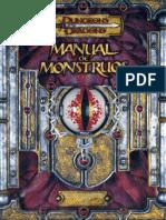 Manuales Basicos - Manual de Monstruos 3.5