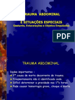 7 Trauma Abdominal Gestante e Evisceracoes Prof Atual