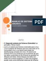 Manejo de Sistemas de Archivo Ignacio Garcia Torres